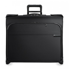 Luggage Briggs And Riley Baseline U176 Dlx Wheeled Garment Bag Black