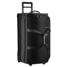 Luggage Briggs And Riley Baseline UWD129 Large Upright Duffle Black