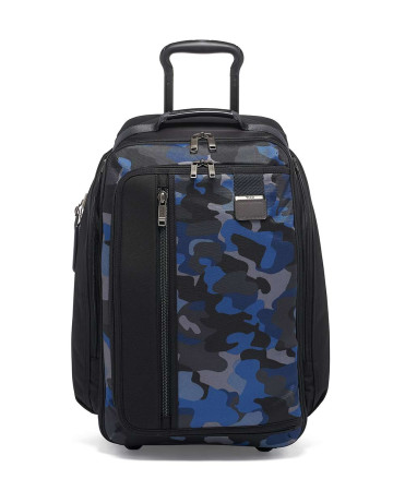 Bags Tumi Merge 124864 Wheeled Backpack Blue Camo