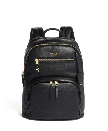 Bags Tumi Voyageur 125083 Hartford Backpack Leather Black