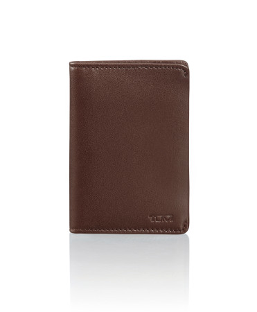 Accessoires Tumi   Nassau 93857 Multi Window Card Case Dark Brown Smooth