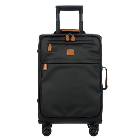 Luggage Bric's Luggage Alba BA348117 55cm Lightweight Carry On Spinner Black