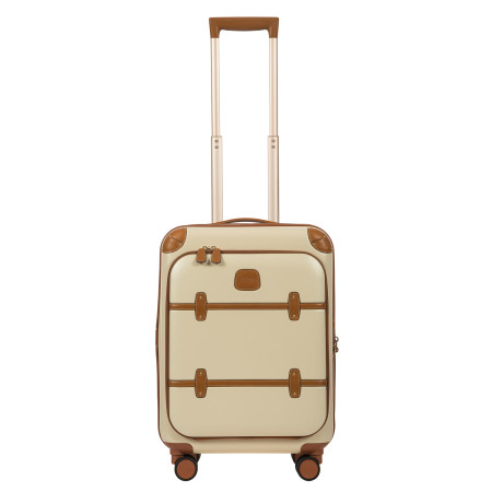 Luggage Brics Bellagio 2 BBG28311 55cm Cabin With Front Pocket Cream 014