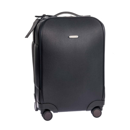 Luggage Ermenegildo Zegna Traveller C1300DTOE 50cm Trolley With Front Pocket Navy