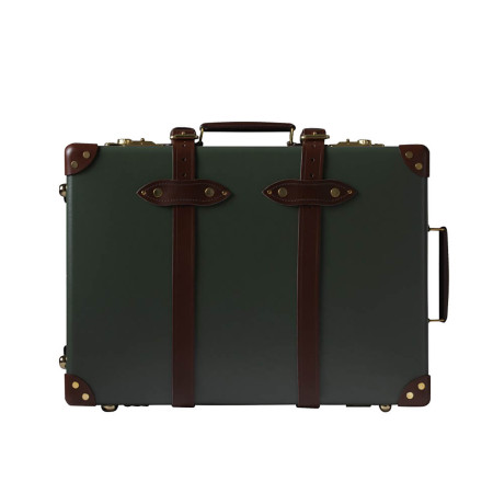 Luggage Globetrotter Centenary CNTGT20TC 20 Inch Trolley Case Green
