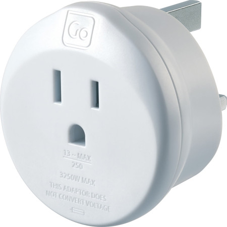 Accessories Travel Go Travel Adaptors 554 Usa-Uk Adaptor Assorted