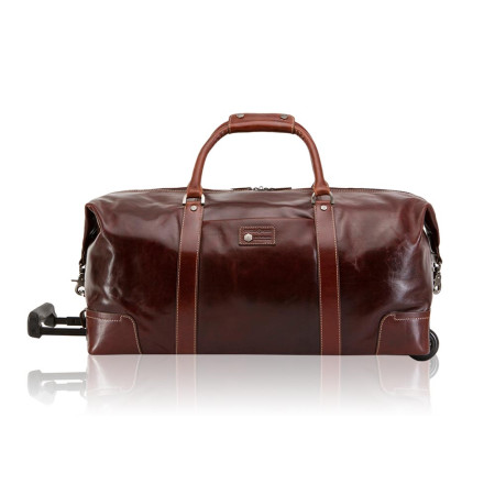 Luggage Jekyll And Hide Oxford 3690OXTO Cabin Wheeled Holdall Tobacco