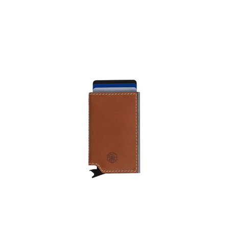 Accessories Jekyll And Hide Roma 4311ROTAG Card Slide Wallet Tan