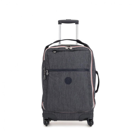 Luggage Kipling Basic - Travel (Wheeled) K14214 Darcey - Medium Cabin Spinner Active Denim