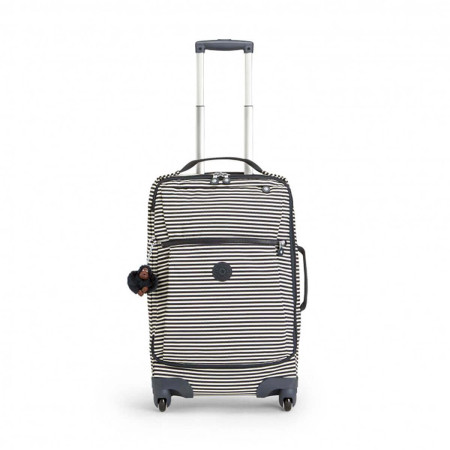 Luggage Kipling Basic - Travel (Wheeled) K15260 Darcey - Medium Cabin Spinner Marine Stripy