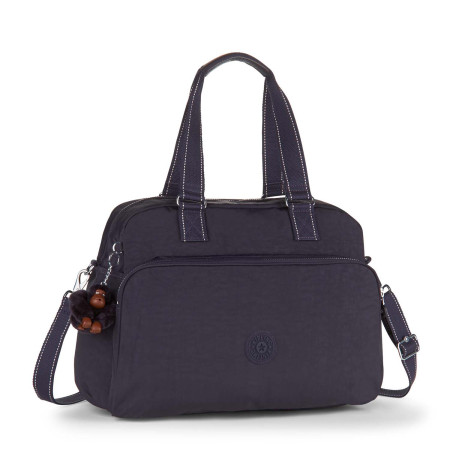 Luggage Kipling Basic - Travel (Non Wheeled) K15374 July Bag - Medium Travel Tote Blue Purple C G71