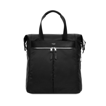 """Casual Knomo Mayfair 119-407 Chiltern 15.6"""" Totepack Black Silver"""