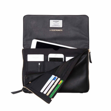 Bags Knomo Mayfair Luxe 120-047 Elektronista Digital Clutch Bag Black