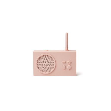 Accessories Lexon Tykho Radio LA119P8 Fm Radio Bluetooth Speaker Pink