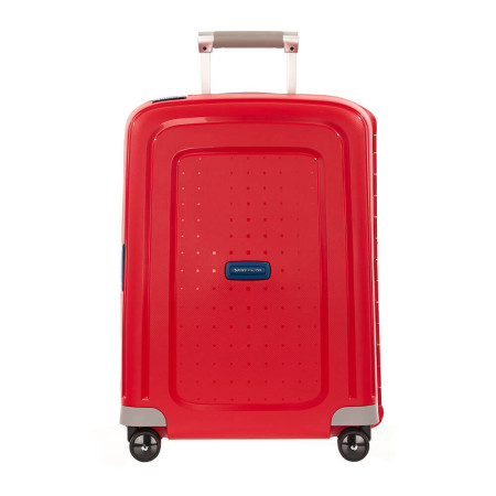 Luggage Samsonite Scure 75444 55cm Spinner Crimson 5383