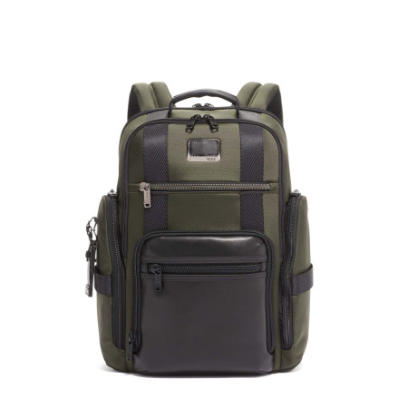Bags Tumi Alpha Bravo 103293 Sheppard Deluxe Backpack Algae