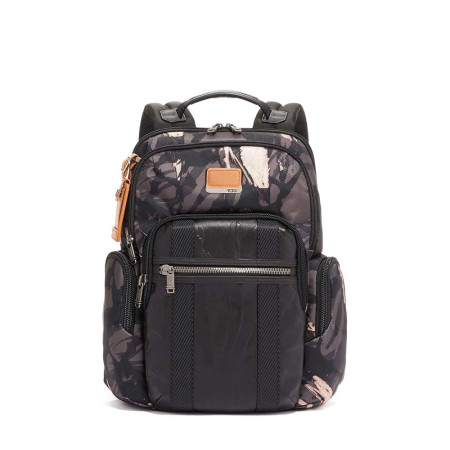Bags Tumi Alpha Bravo 103304 Nellis Backpack Grey Highlands Print