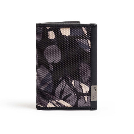 Accessories Tumi Alpha Wallets 103517 Multi Window Card Case Grey Highlands Print