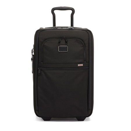 Luggage Tumi Alpha 3 117153 International Expandable 2 Wheeled Carry-On Black