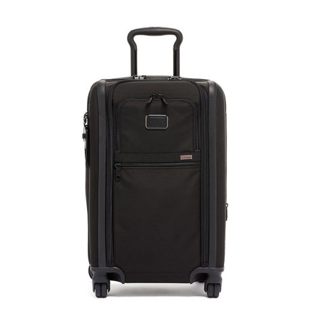 Luggage Tumi Alpha 3 117160 International Dual Access 4 Wheeled Carry-On Black