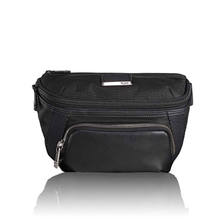 Casual Tumi Alpha Bravo Day Bags 232401 Columbus Utility Pouch Black