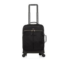 Luggage Knomo Mayfair 119-805 Park Lane Trolley Spinner Black