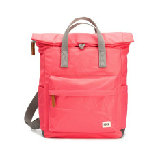 Casual Roka Canfield B Classic CANFBMRAS Rolltop Small Pocket Backpack Tote Raspberry