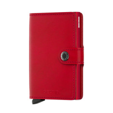 Accessories Secrid Mini Wallets MINI OR Miniwallet 4-6 Cards & Notes Original Red