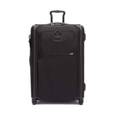 Luggage Tumi Alpha 3 117166 Medium Trip Expandable 4 Wheeled Packing Case  Black