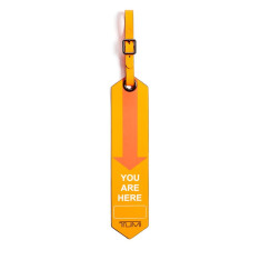 Accessories Tumi Travel Accessories 130429 You Are Here Luggage Tag Orange 1641