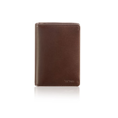 Accessoires Tumi   Nassau 93851 Gusseted Card Case Dark Brown Smooth