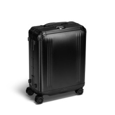 Luggage Zero Halliburton Pursuit Aluminium Collection 94223 Continental Carry On Black
