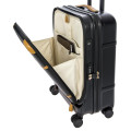 Luggage Brics Luggage Bellagio 2 BBG28312 55cm Cabin F/pocket With Usb Black Tobacco_alt8