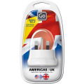 Accessories Travel Go Travel Adaptors 554 Usa-Uk Adaptor Assorted_alt2