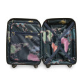 Luggage Ted Baker Flying Colours TBU0403-001 Small Trolley Spinner Jet Black_alt1