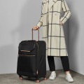 Luggage Ted Baker Albany Collection TBW5002 4 Wheel Medium Case Black Rose Gold